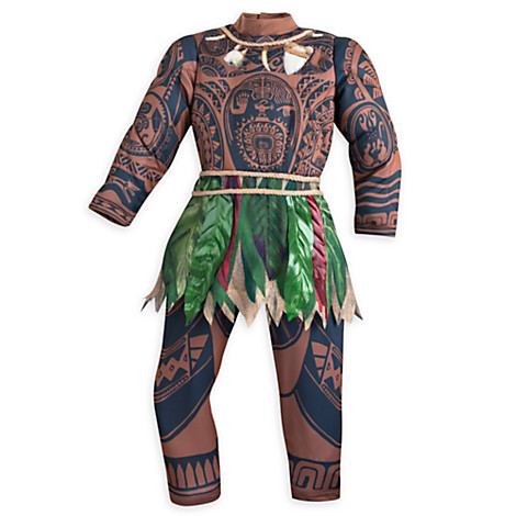 Disney releases Polynesian skin kids outfit