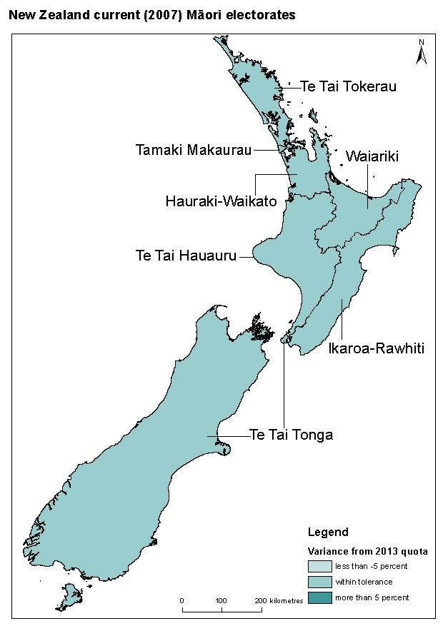 Māori electorate candidates online details